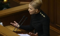 Новый модный стиль Юлии Тимошенко: облегающие платья и оригинальная прическа
