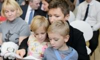 Диана Арбенина празднует день рождения своих двойняшек