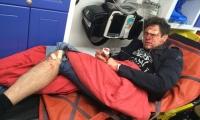Телеведущего Андрея Джеджулу очень жестоко избили на улице
